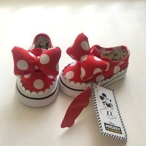 Vans Shoes - Minnie Mouse Baby Vans